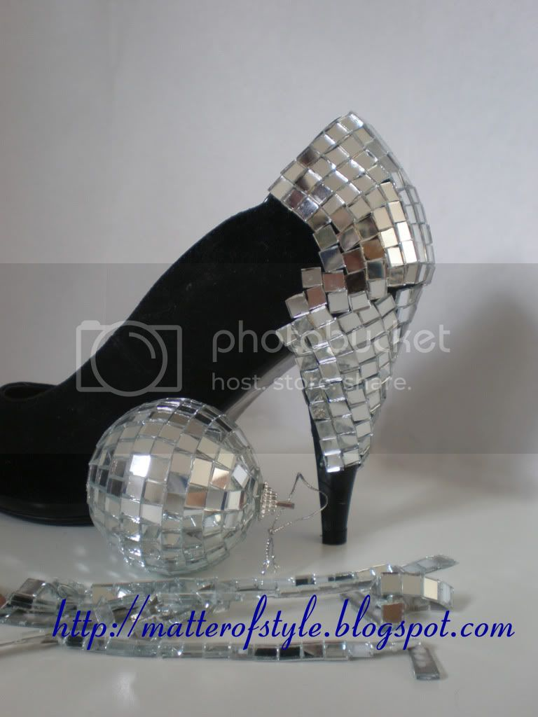Discoball heels