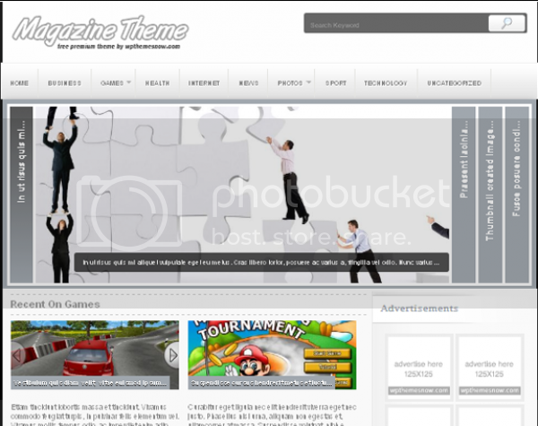 Magazine Wp Free Theme Now