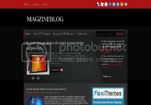 Mastero Free Wordpress Theme