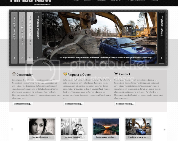 Wordpress Themes Mimbo Wordpress Theme